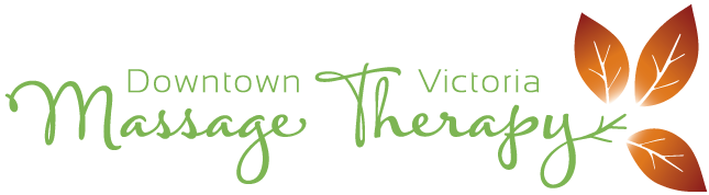 Downtown victoria massage therapy logo